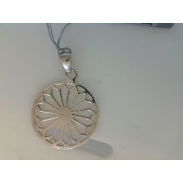 Southern Gates Sterling Silver 30Mm Flower Pendant