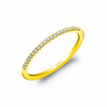 Coast Diamond Lady's Yellow 14 Karat Fishtail Wedding/Anniversary Ring