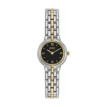 Citizen Ladies Two Tone Stainless Steel Watch