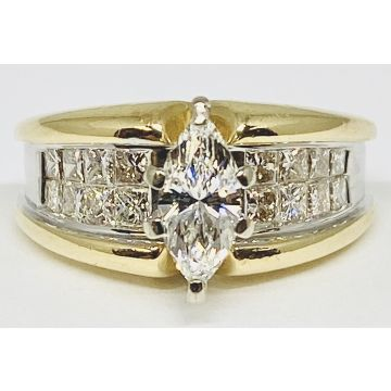 Estate Ladies Diamond Engagement Ring