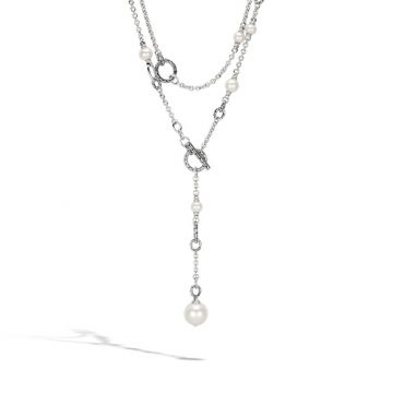 John Hardy Silver Classic Chain Women's Gemstone Necklace