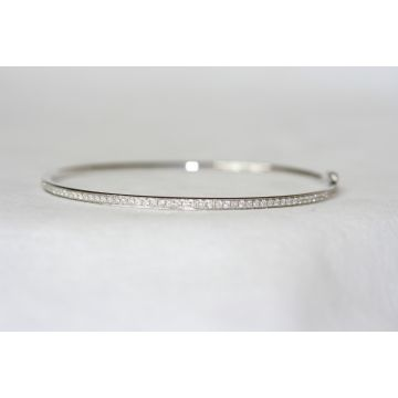 Nelson Diamond Bangle Bracelet