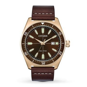 Citizen Brown Rose Tone Watch
