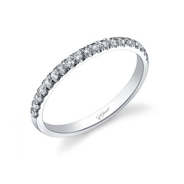 Coast Diamond 14k White Gold 0.19ct Diamond Wedding Band