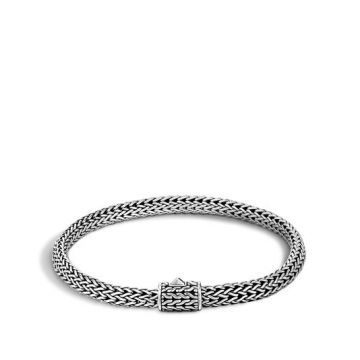 Women's Classic Chain Silver Extra-Small Bracelet