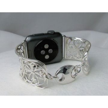 Southern Gates Filigree Scroll Apple Watch Bracelet Cuff
