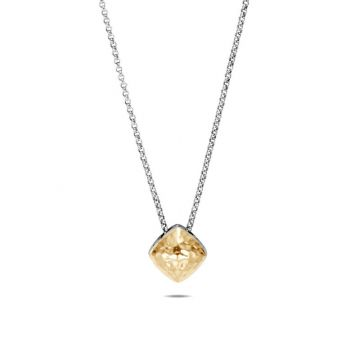 John Hardy WOMEN's Classic Chain Hammered 18K Gold Silver Cluster Sugarloaf Pendant