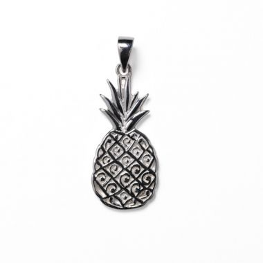 Southern Gates Sterling Silver Pineapple Pendant