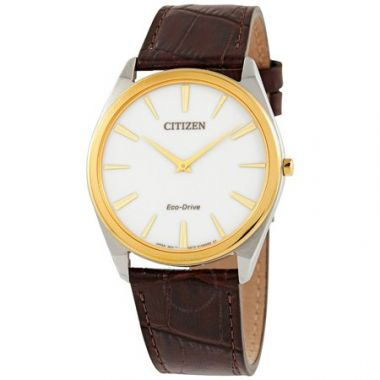 Men's Two-Tone Eco Drive Citizen Watch AR3074-03A