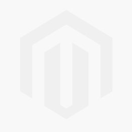 Lady's Two-Tone 18 Karat Three Stone Halo Engagement Ring