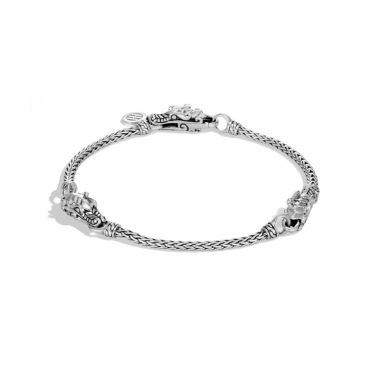 John Hardy Silver Legends Naga Women's Station Bracelet