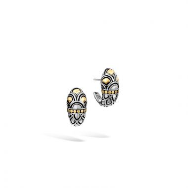 John Hardy Silver & Gold Legends Naga Women's Buddha Belly Earrings