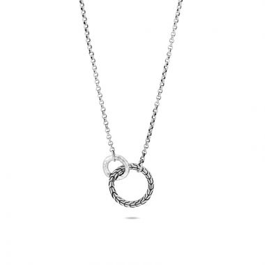 John Hardy Silver Classic Chain Women's Necklace
