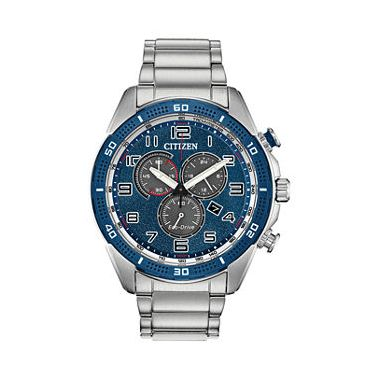 Mens Citizen Eco-Drive Chronograph AT2440-51L