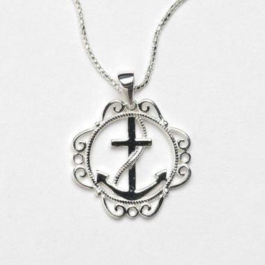 Southern Gates Collection Harbor Series Anchor Pendant