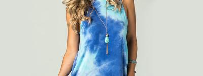 How to match Tie-Dye Clothes and Jewelry